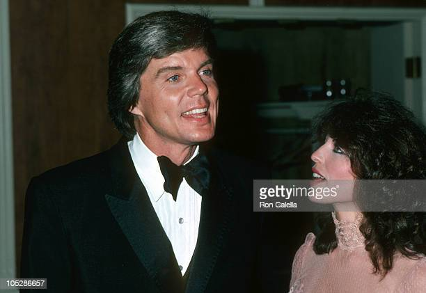 John Davidson and Wife Rhonda Rivera during Gala Evening in Monaco Dubnoff Center Benefit April 24 1981 at Beverly Hilton Hotel in Beverly Hills...