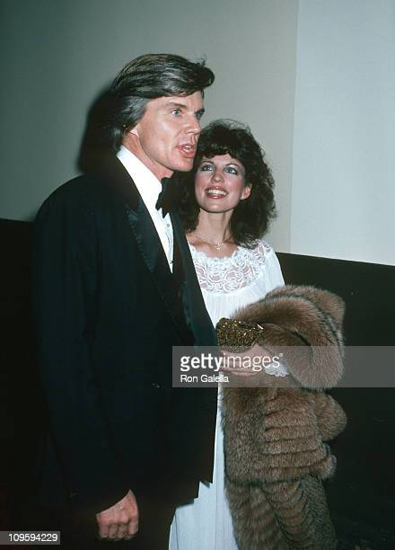John Davidson and Wife Rhonda Rivera during Opening Night Party for Turn To The Right at Chasen's Restaurant in Beverly Hills California United States