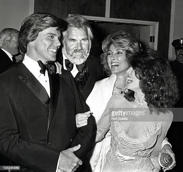 John Davidson Kenny Rogers Marianne Rogers and Rhonda Rivera