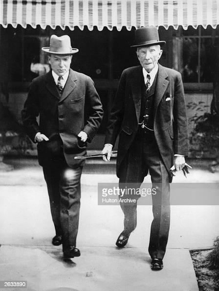 John Davison Rockefeller American Industrialist And