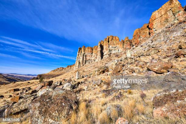 John Day Fossil Beds National Monument,Oregon,USA