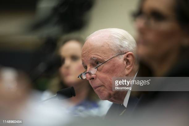 John Dean former White House counsel listens during a hearing on lessons from the Mueller report in Washington DC US on Monday June 10 2019 House...