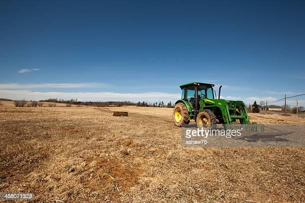 john deere 542 tractor - john deere tractor stock photos and pictures