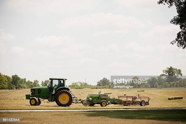 John Deere Alfalfa Harvest