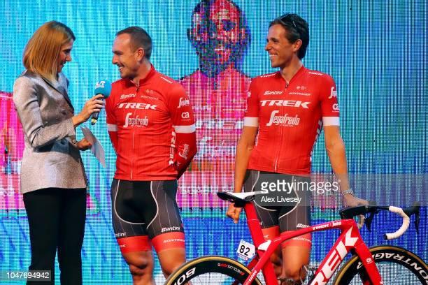 John Degenkolb of Germany and Team Trek-Segafredo / Koen De Kort of The Netherlands and Team Trek-Segafredo / during the 54th Presidential Cycling...
