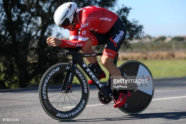 John Degenkolb of TrekSegafredo during the 3rd stage of the cycling Tour of Algarve between Lagoa and Lagoa on February 16 2018