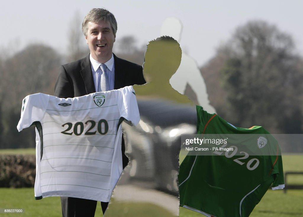 Soccer - Republic of Ireland Sponsorship Deal : News Photo