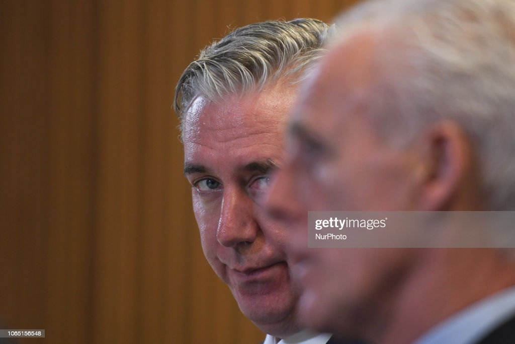 Mick McCarthy New Irish Football Team Coach : News Photo
