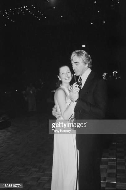 John DeLorean and his wife Cristina Ferrare.