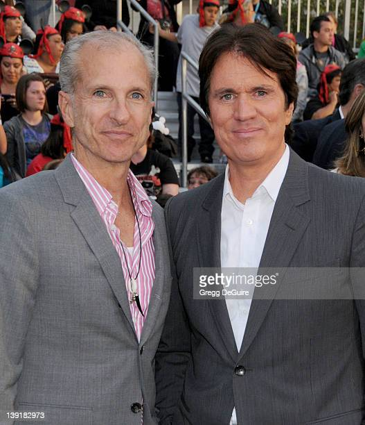 John DeLuca and director Rob Marshall arrive at the World Premiere of 'Pirates of the Caribbean On Stranger Tides' held at Disneyland on May 7 2011...