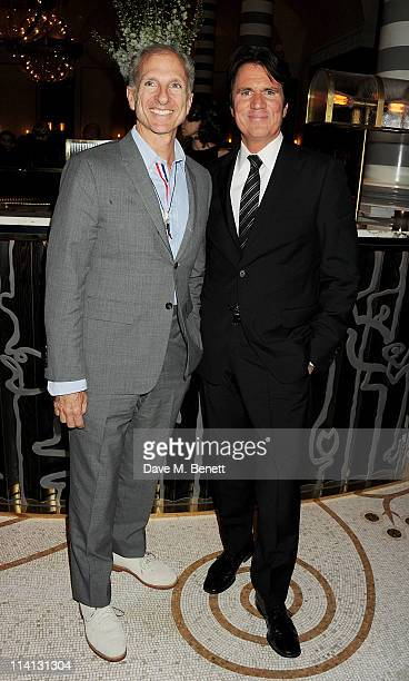 John Deluca and director Rob Marshall attend an after party celebrating the UK Premiere of 'Pirates of the Caribbean On Stranger Tides' at Massimo...