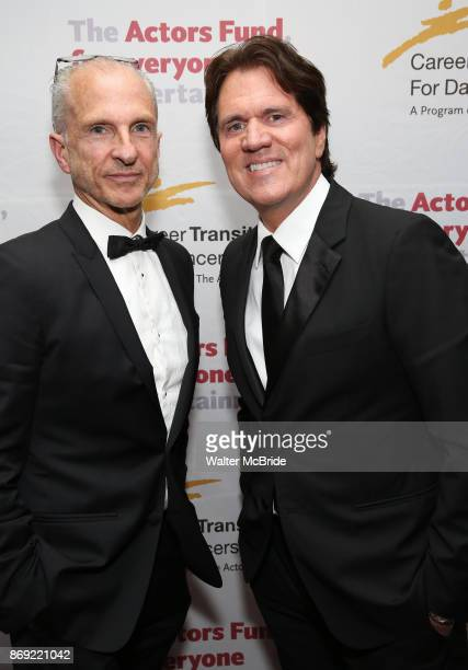 John DeLuca and Rob Marshall attend the Actors Fund Career Transition For Dancers Gala on November 1, 2017 at The Marriott Marquis in New York City.