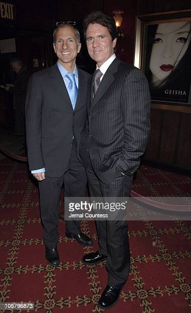 John DeLuca and Rob Marshall during 'Memoirs of a Geisha' New York City Premiere Inside Arrivals at Ziegfeld Theater in New York City New York United...