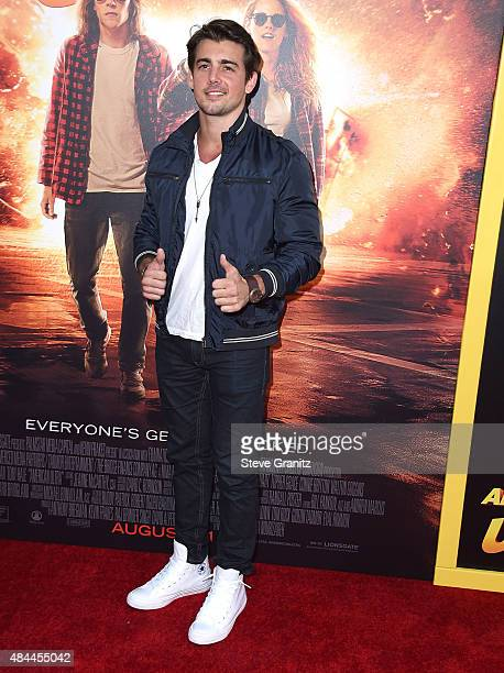 John DeLuca arrives at the Premiere Of Lionsgate's 'American Ultra' at Ace Theater Downtown LA on August 18 2015 in Los Angeles California