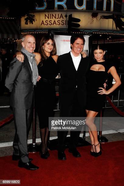 John DeLuca, Penelope Cruz, Rob Marshall and Fergie attend NINE Special Los Angeles Screening at Mann's Westwood VillageTheatre on December 9, 2009...