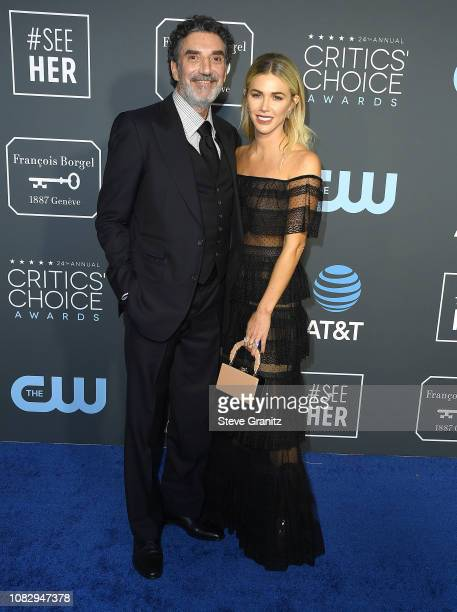 John DeLuca Rob Marshall arrives at the The 24th Annual Critics' Choice Awards attends The 24th Annual Critics' Choice Awards at Barker Hangar on...