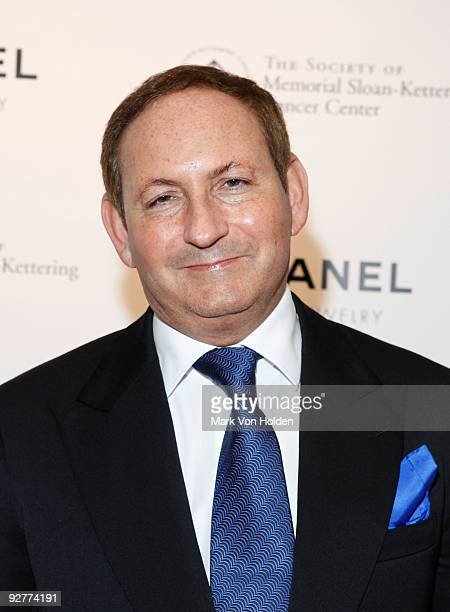 John Dempsey attends CHANEL's Fete d'Hiver benefit for the Memorial SloanKettering Cancer Center at the Four Seasons Restaurant on November 4 2009 in...