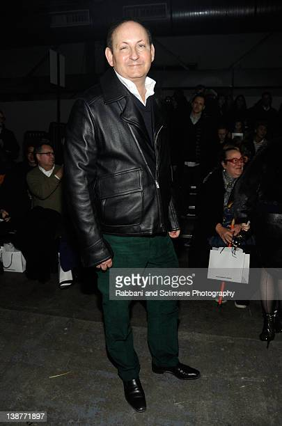 John Dempsey attends the Alexander Wang Fall 2012 fashion show during MercedesBenz Fashion Week at Pier 94 on February 11 2012 in New York City
