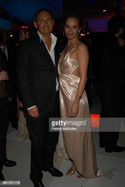 John Demsey and attend Vanity Fair Oscar Party at Morton's Restaurant on February 27 2005 in Los Angeles California