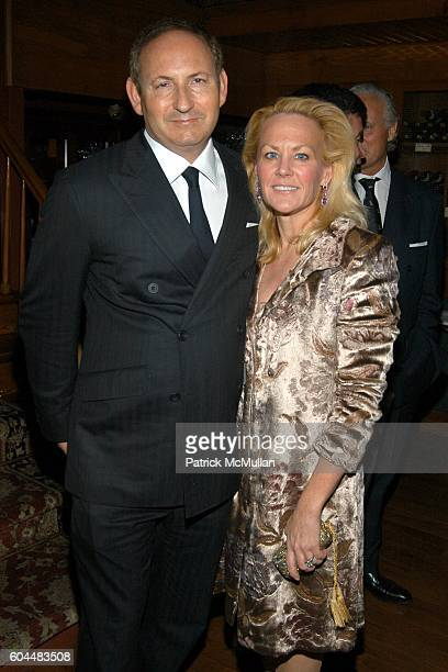 John Demsey and Muffie Potter Aston attend Engagement Dinner for JAY MCINERNEY and ANNE HEARST hosted by GEORGE FARIAS at La Grenouille on November...
