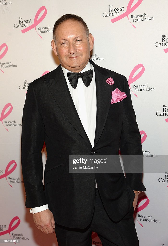 John Demsey attends The Breast Cancer Foundation's 2014 Hot Pink Party at Waldorf Astoria Hotel on April 28, 2014 in New York City.