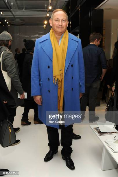 John Demsey attends the Ralph Rucci fashion show during MercedesBenz Fashion Week Fall 2014 on February 9 2014 in New York City