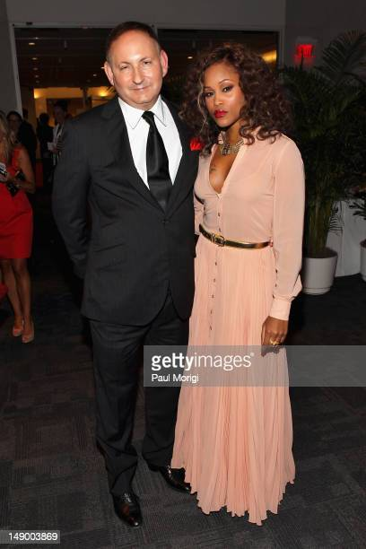 John Demsey Group President Estee Lauder Companies and Eve attend Together To End AIDS An Evening To Benefit amfAR and GBCHealth at John F Kennedy...