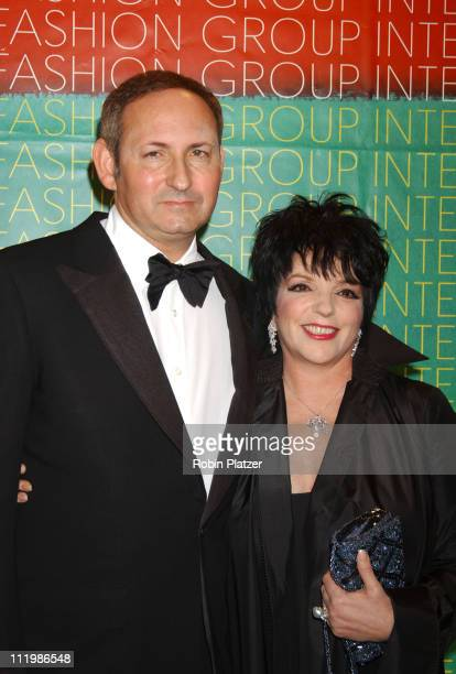 John Demsey of MAC Cosmetics and Liza Minnelli during The Fashion Group International Presents The 20th Annual Night of Stars at Cipriani 42nd Street...