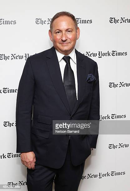 John Demsey of MAC Cosmetics attends the New York Times Vanessa Friedman and Alexandra Jacobs welcome party on September 3 2014 in New York City
