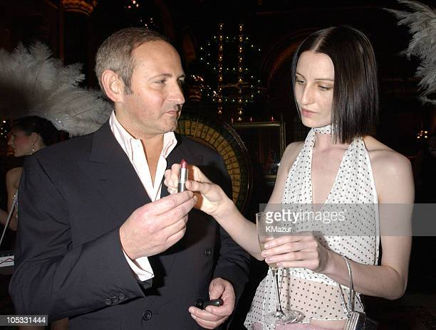 John Demsey President of MAC Cosmetics and Erin O'Connor