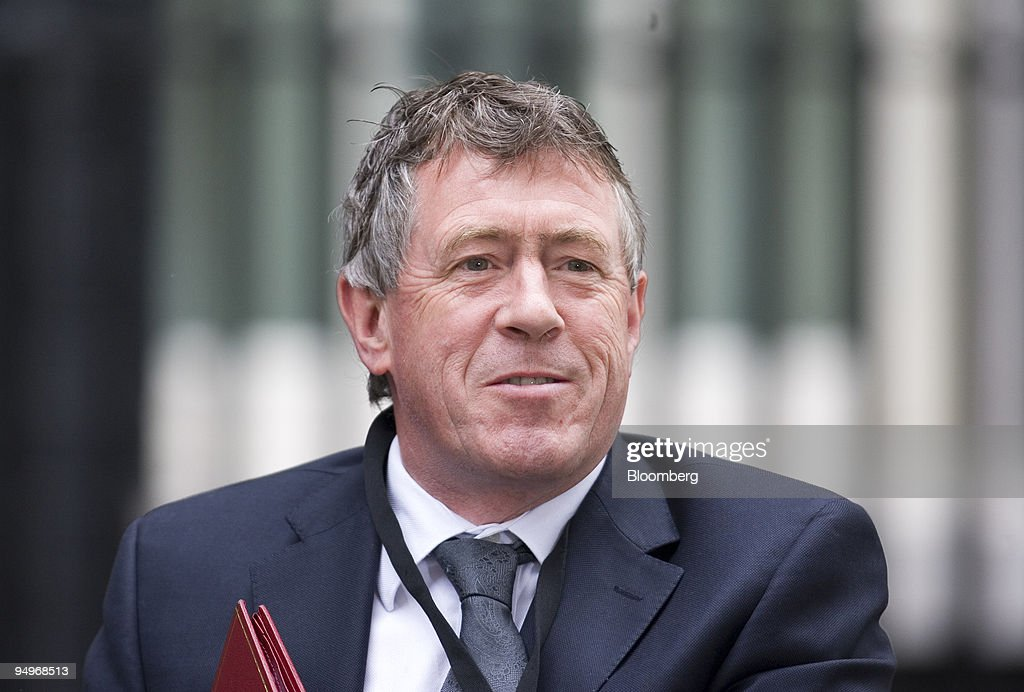 John Denham, U.K. communities secretary, arrives for the wee : News Photo