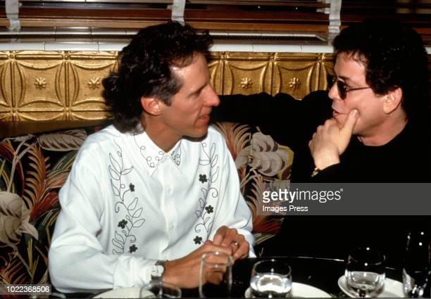 John Densmore and Lou Reed circa 1991 in New York.