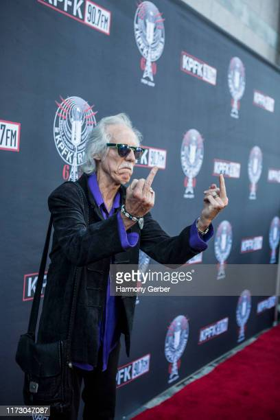 John Densmore attends the KPFK 907FM 60th Anniversary Benefit Gala at Skirball Cultural Center on September 07 2019 in Los Angeles California