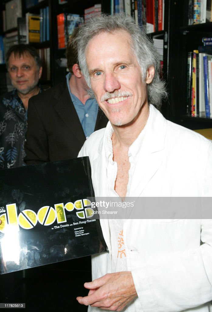 John Densmore of The Doors during The Doors 40th Anniversary Celebration - Reading with John Densmore and Perry Farrell at Book Soup in Hollywood, California, United States.