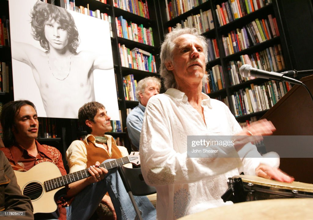 John Densmore of The Doors (right) with Nuno Bettencourt and Perry Farrell