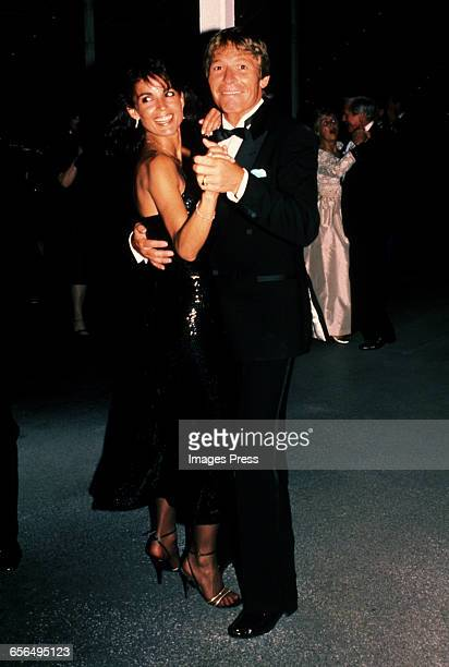 John Denver and girlfriend Cassandra Delaney circa 1984 in New York City