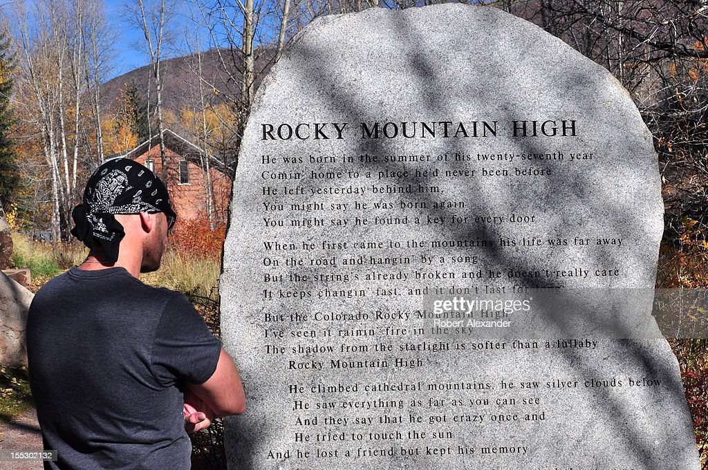 Lyric song lyrics with mountain : Colorado Scenics Pictures | Getty Images
