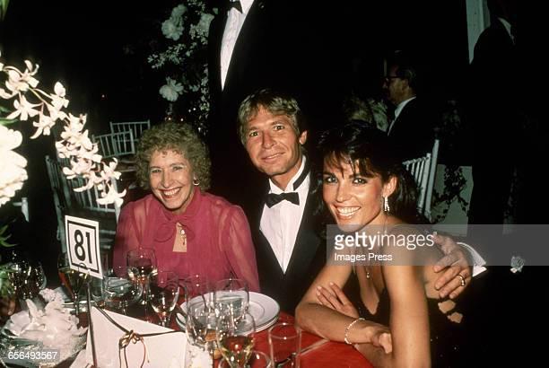 John Denver mother Erma Louisa Swope and girlfriend Cassandra Delaney circa 1984 in New York City