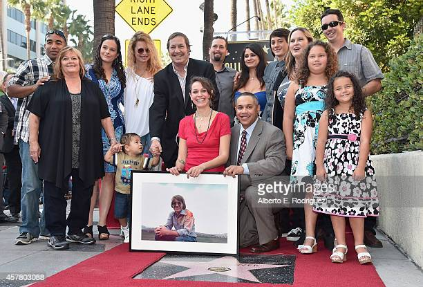 John Denver's family attends the ceremony posthumosly honoring John Denver with the 2531st star on the Hollywood Walk of Fame on October 24 2014 in...