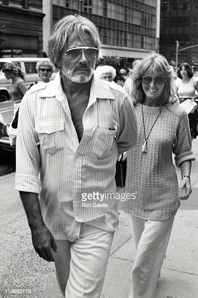 John Derek and Bo Derek during Bo Derek and John Derek Sighting at the Pierre Hotel in New York City July 21 1981 at Pierre Hotel in New York City...