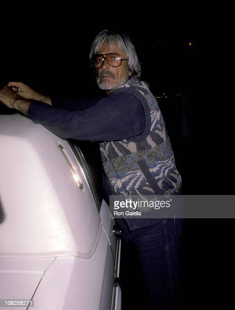 John Derek during John Derek Sighting in Los Angeles May 1 1985 in Los Angeles California United States