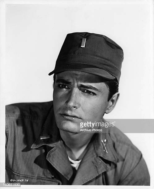 John Derek portrays the role of an Army pilot in a scene from the film 'Mission Over Korea' 1953