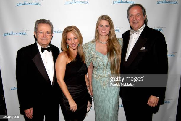 John Devol, Lauren Glassberg, Bonnie Comley and Stewart F. Lane attend The PAUL NEWMAN AWARD Bestowed to STEWART F. LANE and BONNIE COMLEY from...