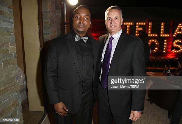 John Dillon Award Recipient Darius Coffey and Chrysalis President and CEO Mark Loranger inside the 13th Annual Chrysalis Butterfly Ball sponsored by...