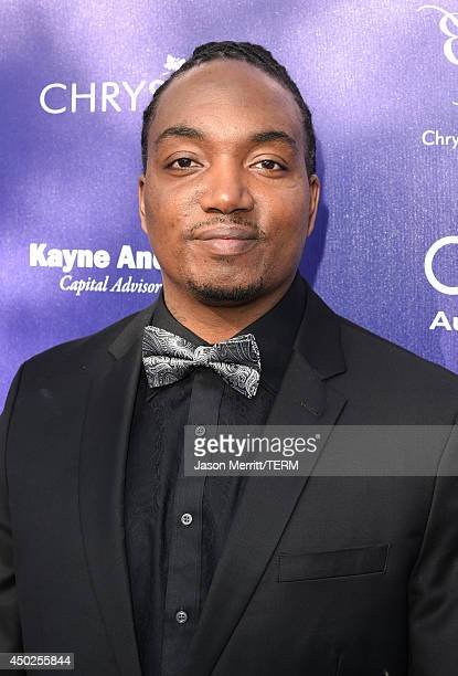 John Dillon Award recipient Darius Coffey arrives at the 13th Annual Chrysalis Butterfly Ball in Los Angeles on June 7th 2014