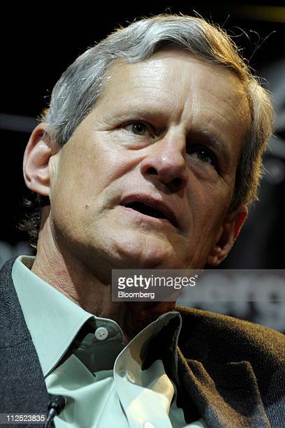 John Dillon chief executive officer of Engine Yard Inc speaks at Bloomberg Link Empowered Entrepreneur Summit in New York US on Thursday April 14...