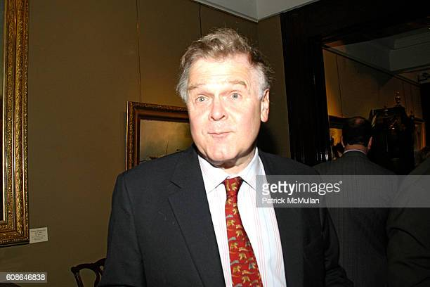 John Dizard attends Book Party for Off The Record by NORMAN PEARLSTINE at Arader Galleries on June 25 2007 in New York City