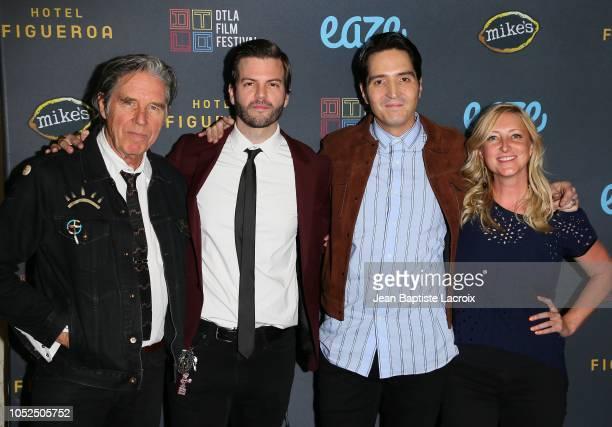 John Doe Collin Schiffli David Dastmalchian and Amy Greene attend the 2018 Downtown Los Angeles Film Festival 'All Creatures Here Below' 'Original...