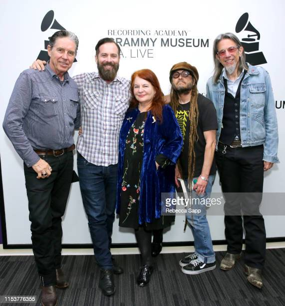 John Doe Tom DeSavia Allison Anders Keith Morris and Museum Artistic Director Scott Goldman attend More Fun In The New World With John Doe Tom...