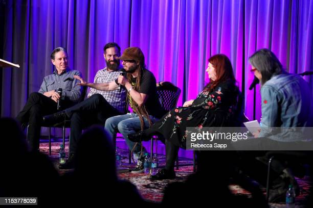 John Doe Tom DeSavia Keith Morris and Allison Anders speak with Museum Artistic Director Scott Goldman at More Fun In The New World With John Doe Tom...